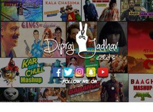 Dipraj Jadhav Edits: एका मराठी तरुणाच्या हास्यकल्लोळ माजवणारे Mashup चित्रफिती