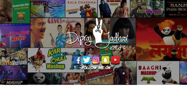 Dipraj Jadhav Edits: एका मराठी तरुणाच्या हास्यकल्लोळ माजवणार्या Mashup चित्रफिती