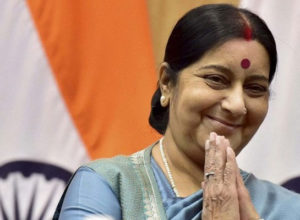 Sushma swaraj helped to rescue Four Indians in Nigeria | Marathi