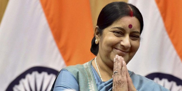 Sushma swaraj helped to rescue Four Indians in Nigeria   Marathi