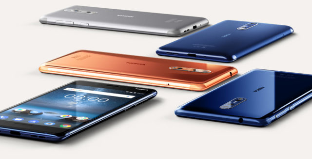 Nokia Launches Nokia 8 with dual sight mode camera