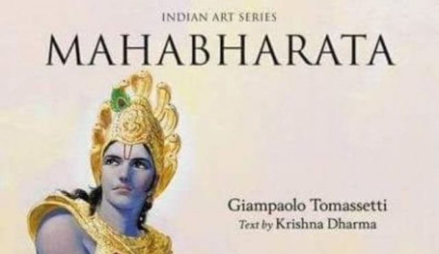 Italian Painter Giampaolo Tomassetti Painted Breathtaking Mahabharat Pictures