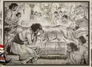 शिवाजी महाराज व त्यांच्या आई ….