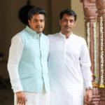 Parth Pawar and Rohit Pawar
